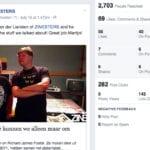 reach, clicks en shares op de facebook